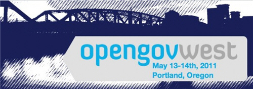 OpenGov West 2011 Conference promotional banner