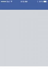 Facebook-Initial Load 23 sec