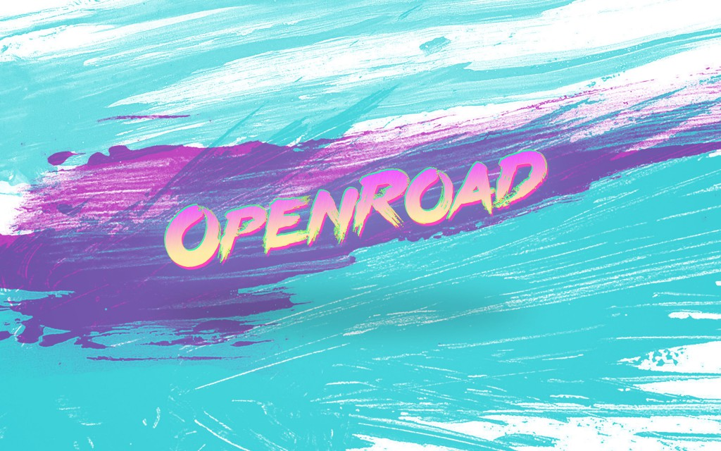 OpenRoad 90's wallpaper