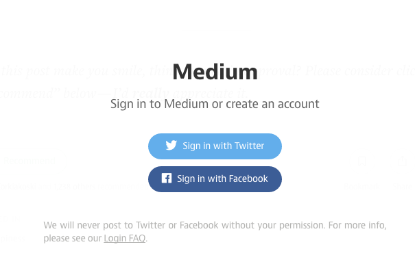 Sign in to Comment on Medium