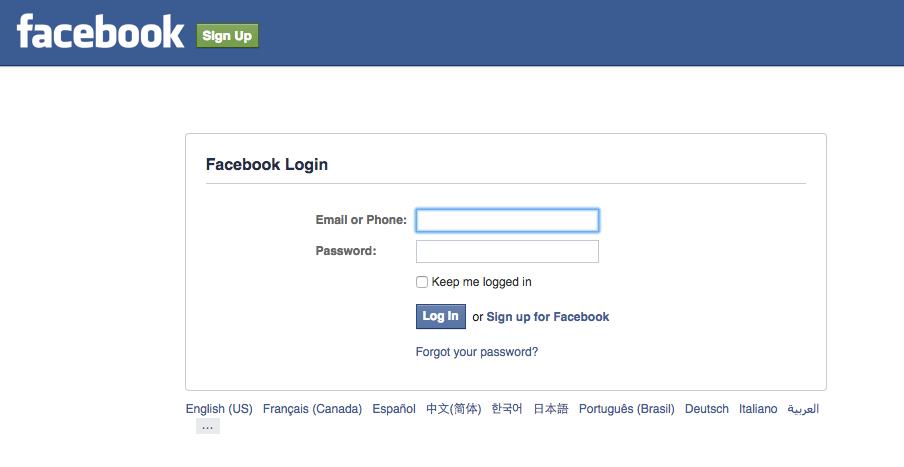 Facebook Login through Medium