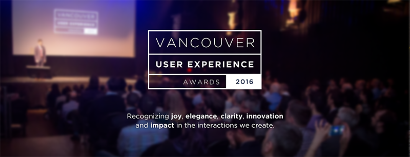 OpenRoad (OXD) hosts the 2016 Vancouver User Experience Awards