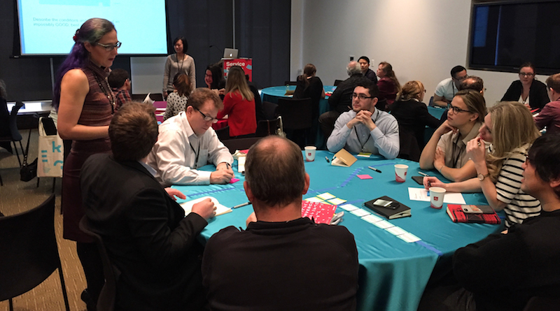"""Great turnout at OpenRoad's """"A Sampler of Service Design Methods"""" workshop"""