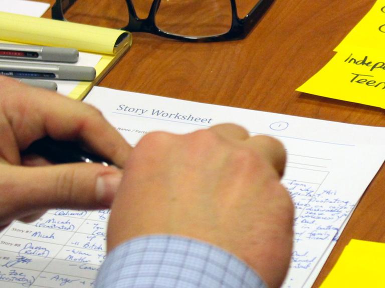 BC Family Justice workshop sheet