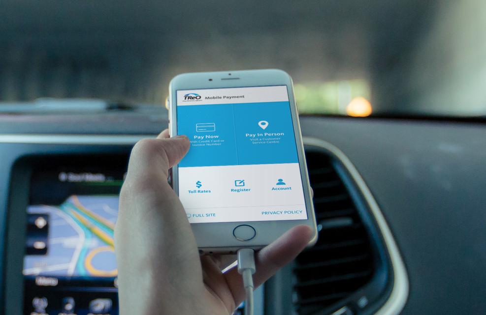 TReO Mobile Device