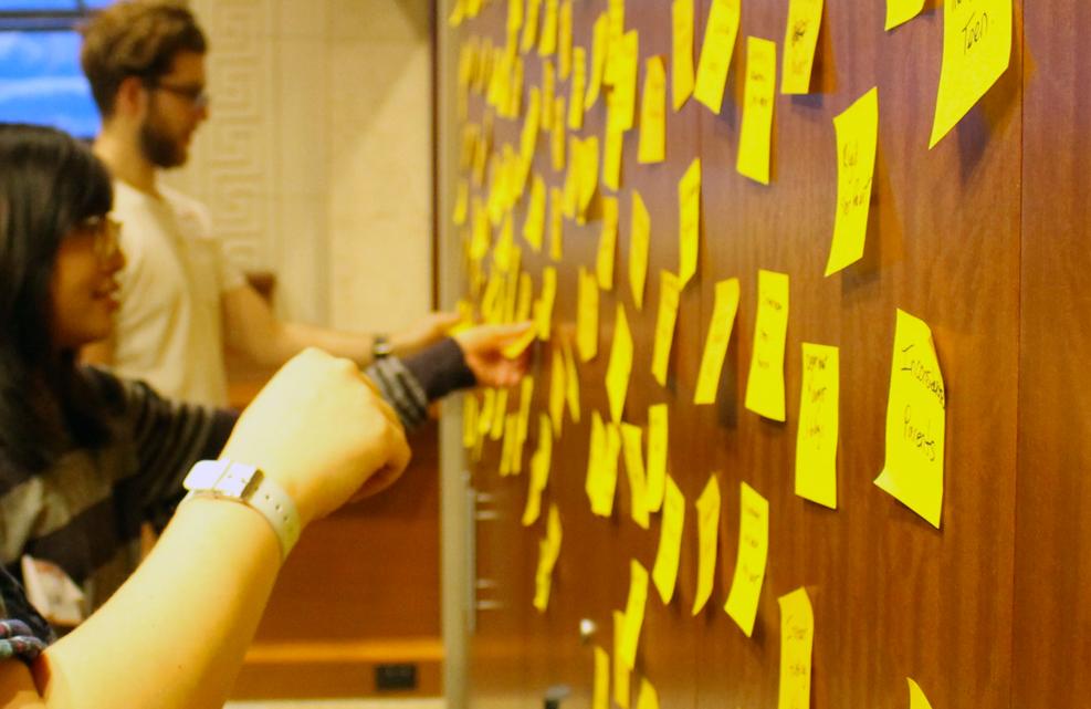 BC Innovation Post-it Notes