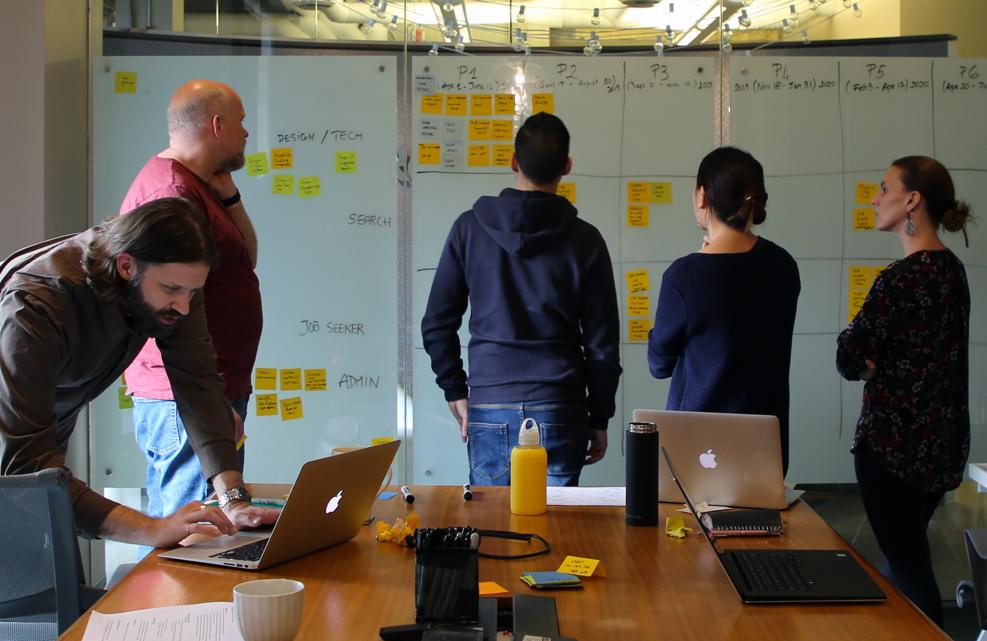 team workshopping