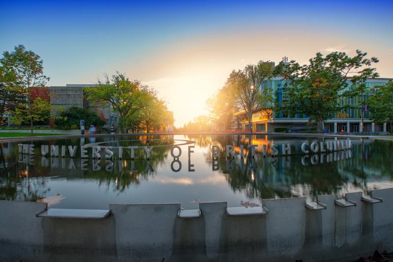 University of British Columbia UBC Campus