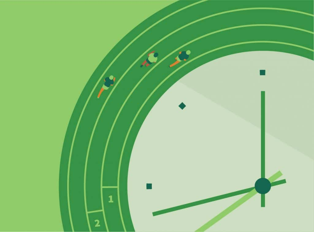 OXD illustration representing continuity in digital transformation