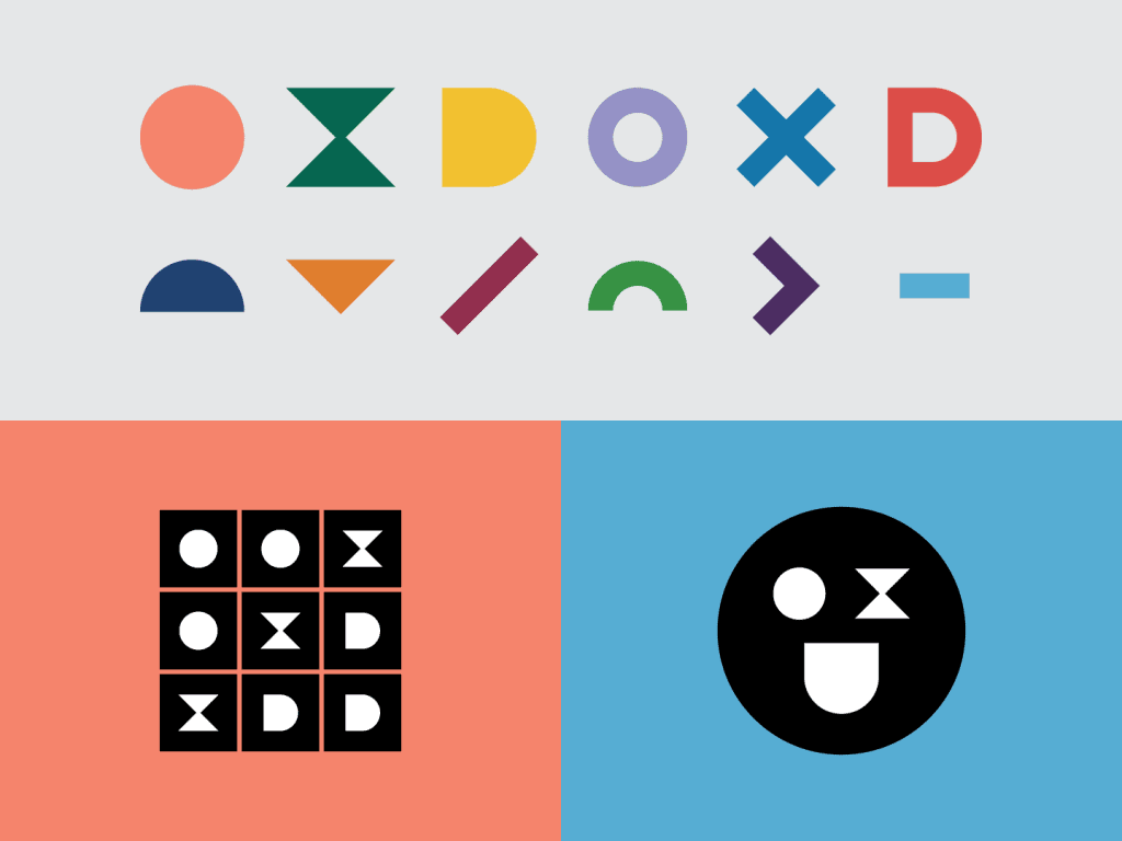 Image of OXD's rebrand system