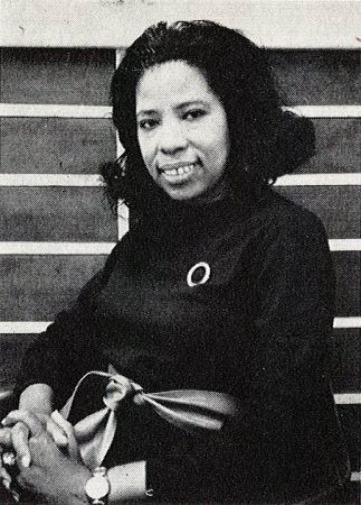 Dorothy Hayes pictured in black and white, one of the featured women in design in our article.